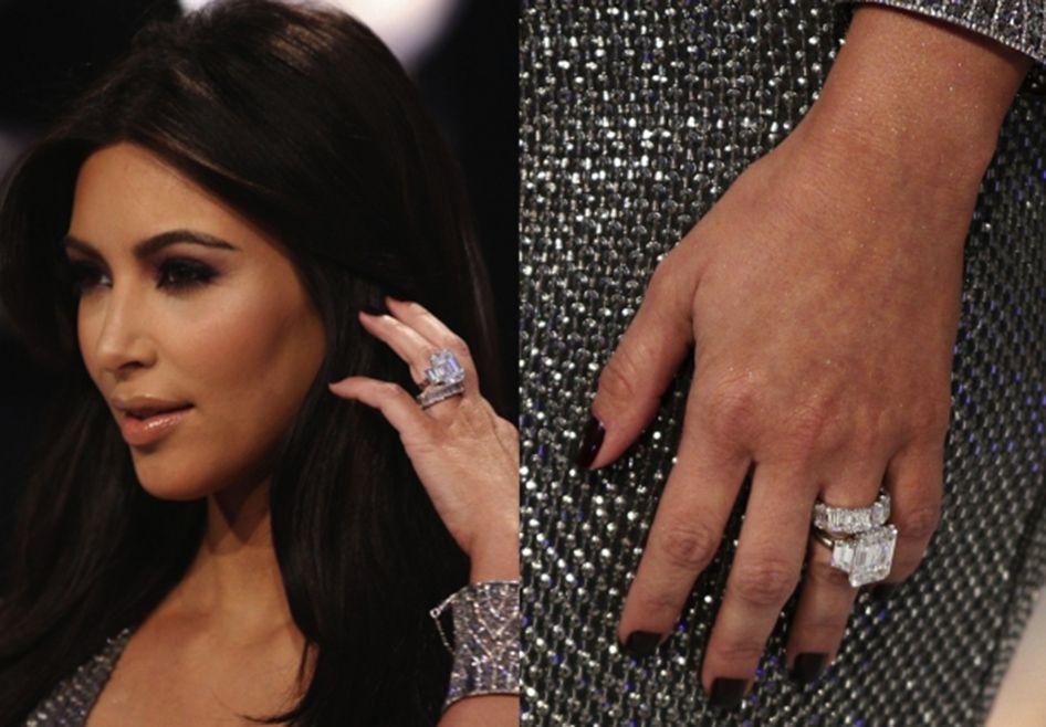 Кольцо Ким Кардашьян