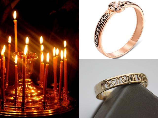 Женские и мужские золотые кольца с гравировкой