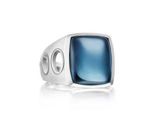 Мужское серебряное кольцо Tacori