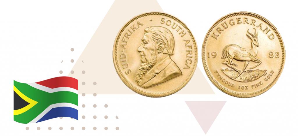 монета Южно-Африканской республики