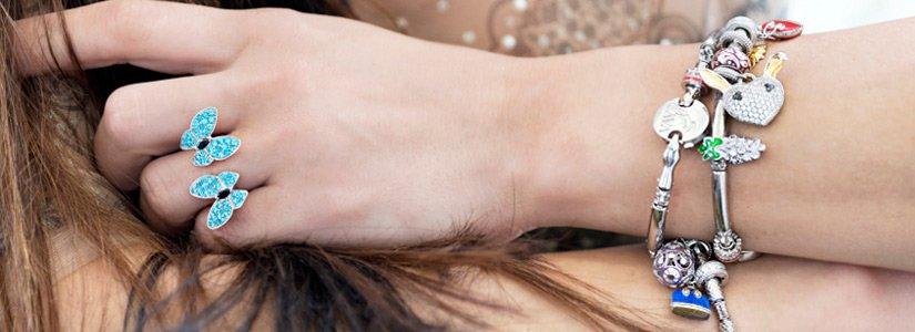 Стильные серебряные кольца со скидкой -20% в Zlato.ua