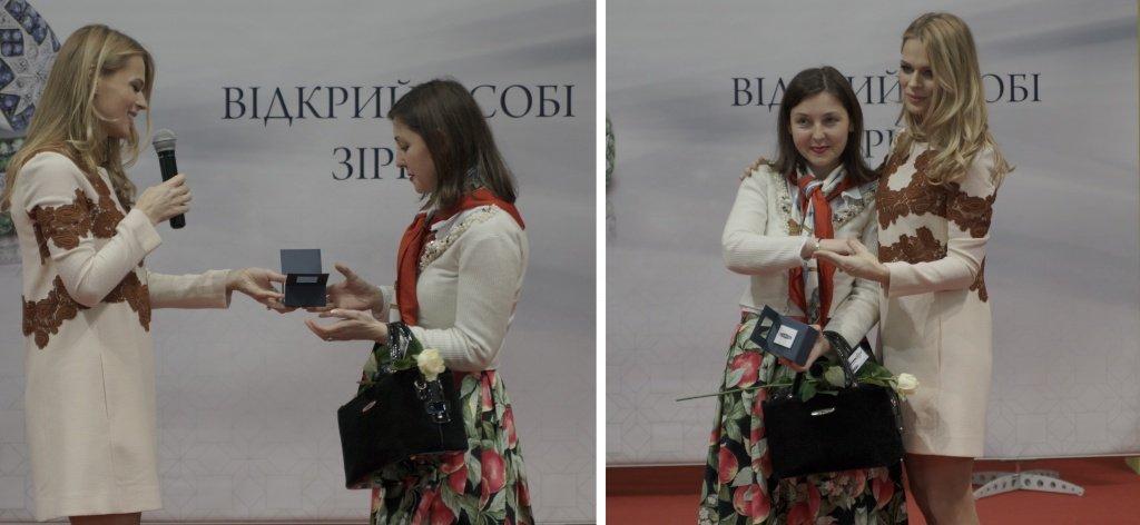 Вручение призов от бренда Zarina на Ювелир Экспо Украина