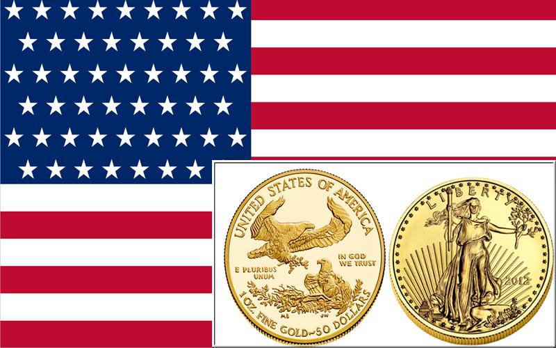 Eagle Gold Coin - Золотая инвестиционная монета США