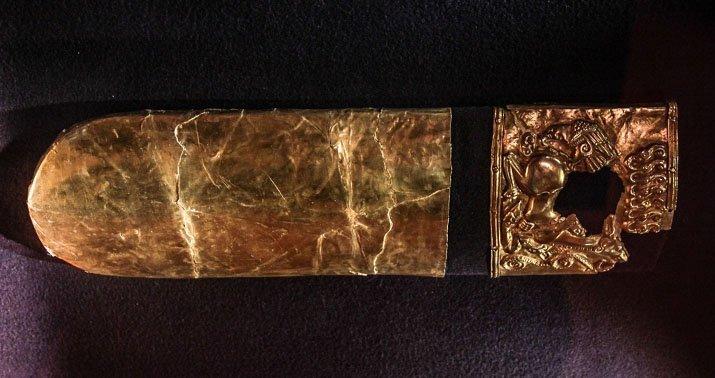 Обкладка колчана из драгоценных металлов