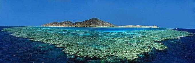 Остров, на котором добывают перидоты