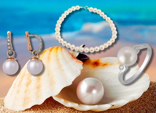 Ювелирные изделия с жемчугом  купить украшение вставка жемчуг в ... 7674e17d2d5