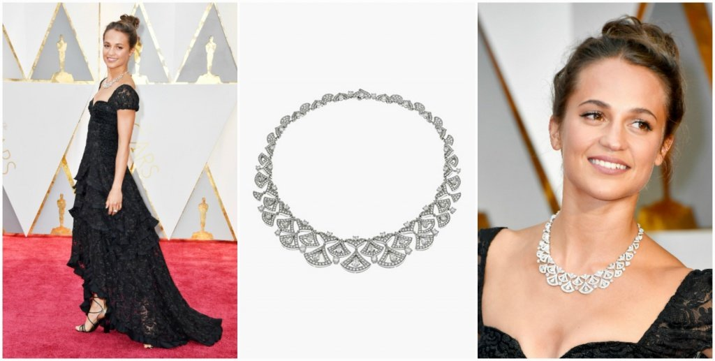 Алисия Викандер на церемонии Оскар