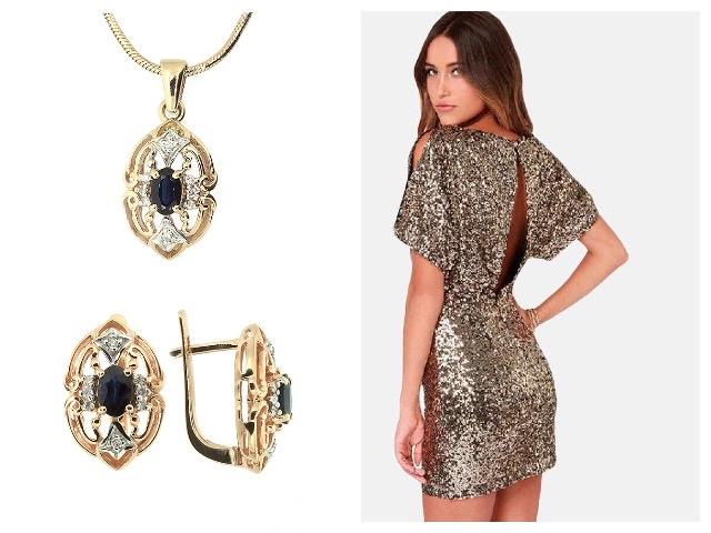 Женские золотые изделия с бриллиантами