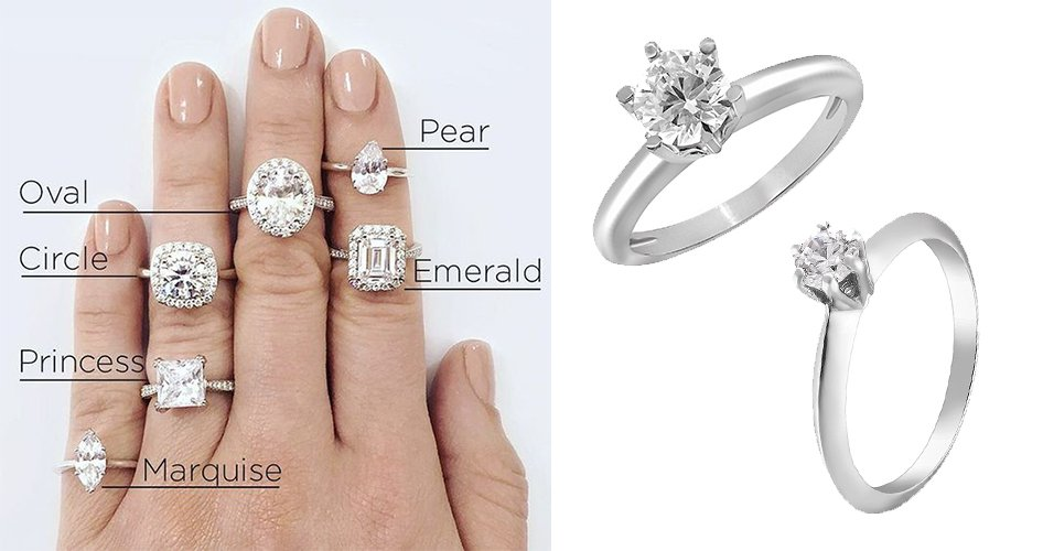 Огранка кольца для помолвки