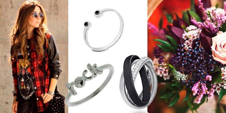 Ювелирные аксессуары из серебра и керамики
