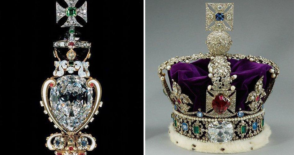 Бриллиант королевской семьи Великобритании