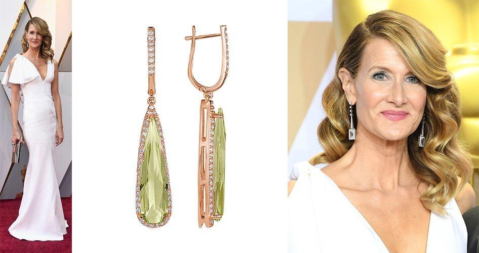 Лора Дерн на церемонии Оскар