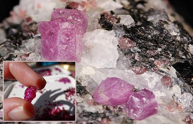 Розовые сапфиры - одни из самых красивых цветных камней