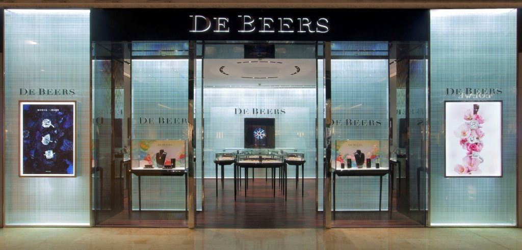 Ювелирный магазин De Beers