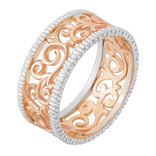 Кольцо Алекто из красного золота