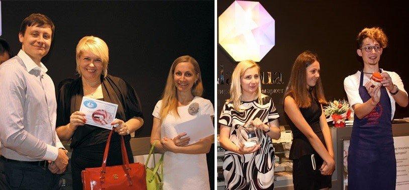 Вручение подарков участницам ZlatoClub
