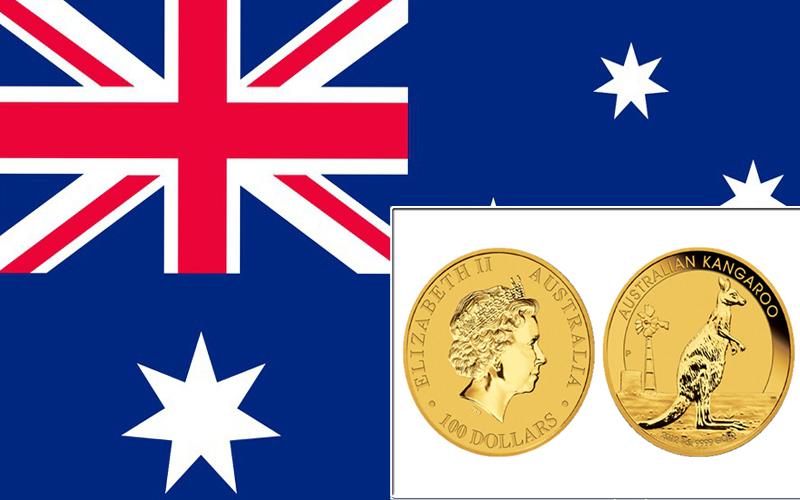 Kangaroo Gold Coin - золотая монета с Австралии