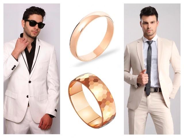Мужские обручальные кольца европейка