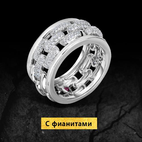 Золотые кольца с фианитами со скидкой до 40% на Black Friday в Zlato.ua