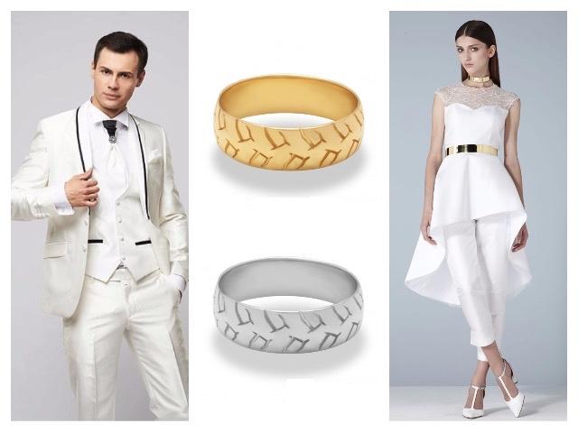 Дизайн обручального кольца