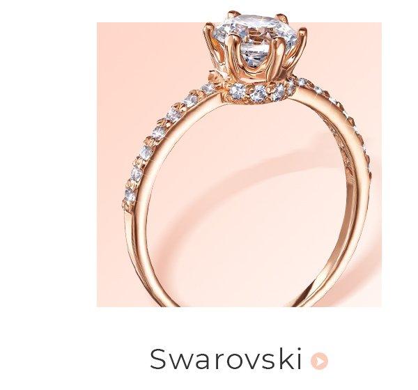 помолвочные кольца с фианитами Сваровски злато юа