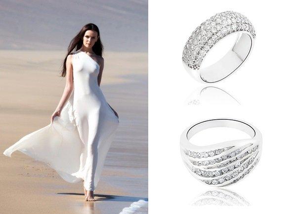 серебрянные кольца