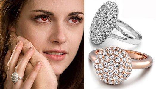 Алмазное кольцо Беллы