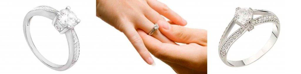 кольца помолвочные