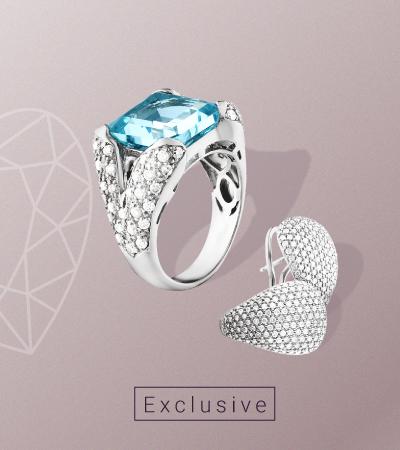 Эксклюзивные украшения с бриллиантами