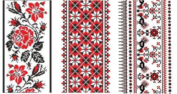 Орнаменты вышиванок