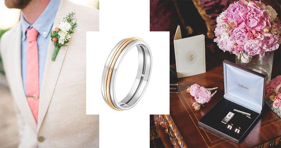 Обручальное кольцо для мужчины