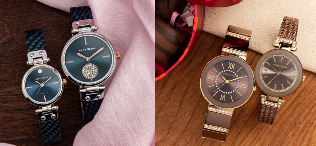 Стильные модели часов Anne Klein