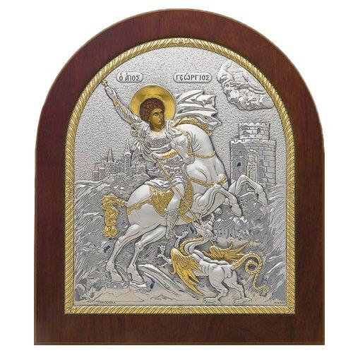 Икона с ликом Георгия Победоносца