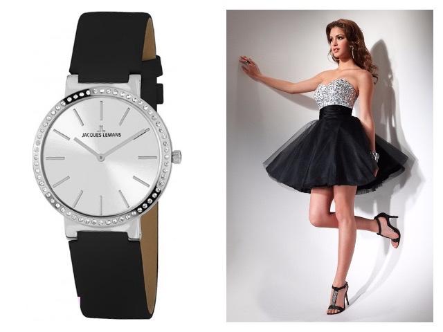 Часы с минеральным стеклом женские