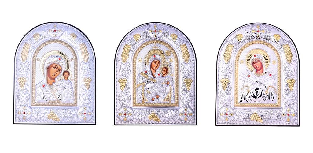Иконы в камнях Сваровски