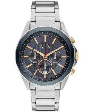 Часы в серебристом корпусе Armani Exchange