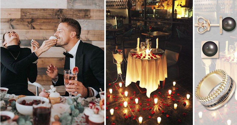 Романтический ужин в числе желанных подарков