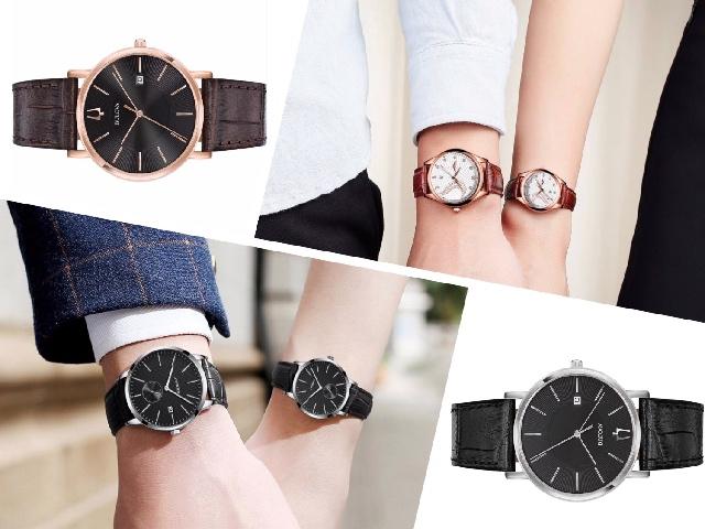 Классические наручные часы для женщин и мужчин