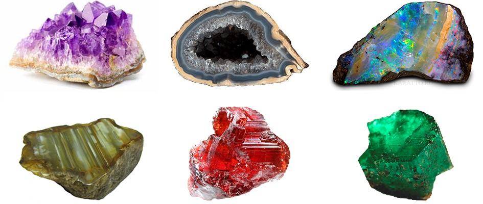Камни Стрельцов: Аметист, оникс,агат, опал, изумруд, гранат