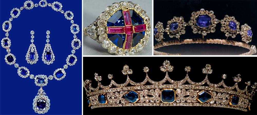 Королевские украшения с сапфирами