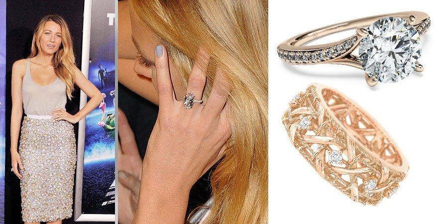 Обручальное кольцо Блейк Лайвли