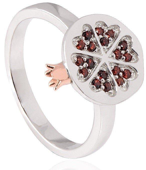 Кольцо в виде граната Кольцо Clogau