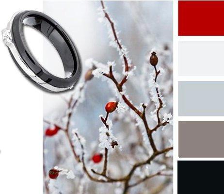 Модное керамическое кольцо