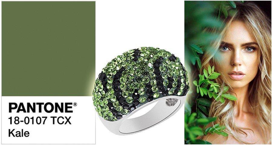 трендовый цвет Kale «кудрявая капуста»