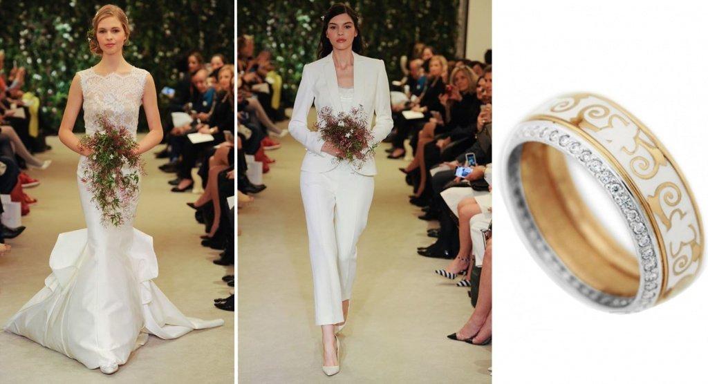 Свадебные платья от Carolina Herrera