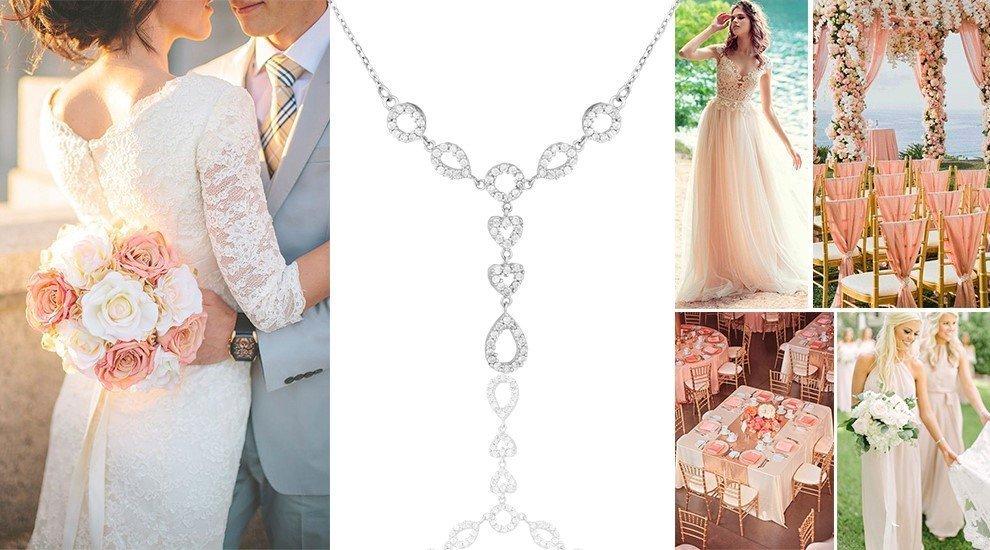 Украшение на свадьбу в розовом цвете