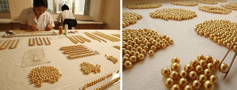 Сортировка золотых жемчужин