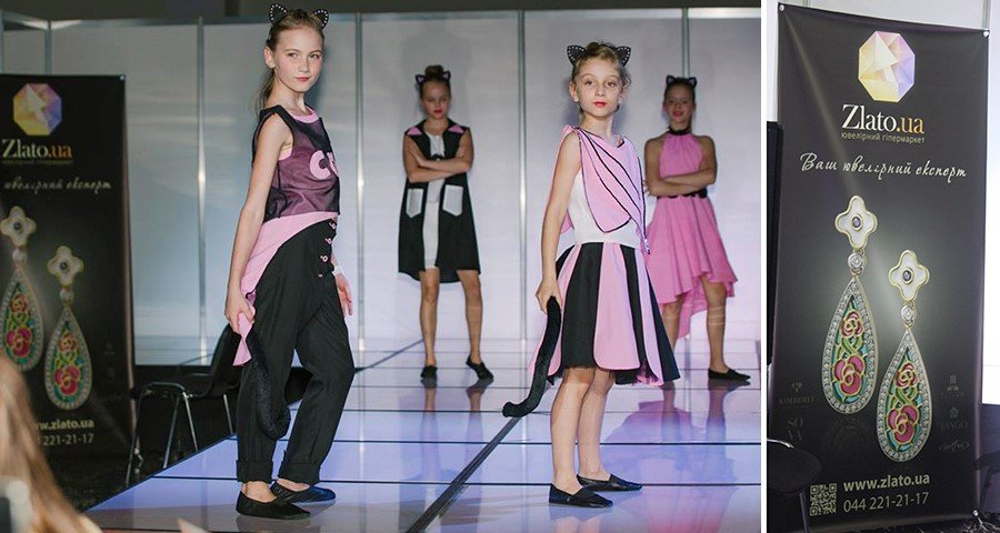 Zlato.ua - партнер детского конкурса красоты