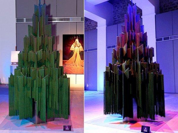 Авангардная ёлка от Gaultier