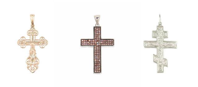 Крестики из золота Zarina